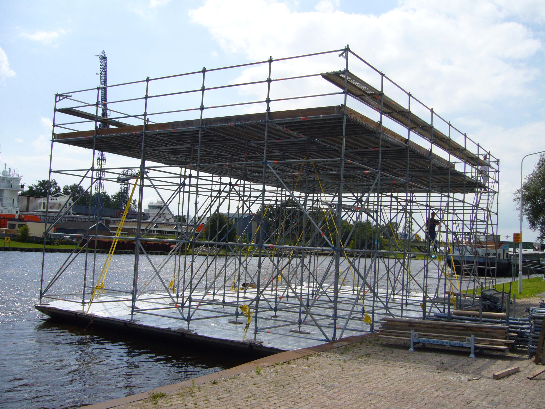 onderhoud aan brugdek